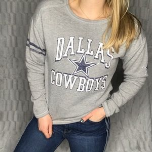 Dallas Cowboys Crew Neck Sweatshirt Top